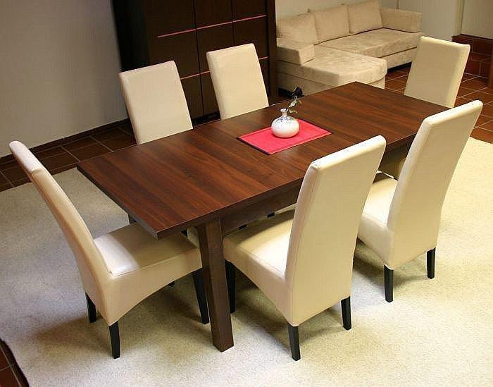 Essgruppe Esstisch Mit 6 Stühlen, Tisch 160 Cm + 6 Stühle