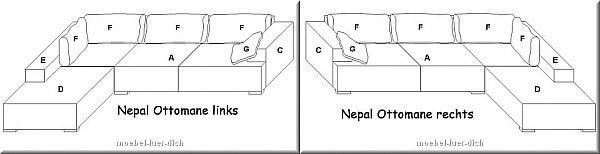 Designer wohnlandschaft ecksofa nepal modern exklusiv ebay for Wohnlandschaft 600 euro