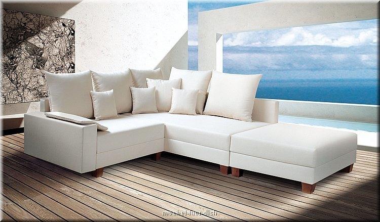 wohnlandschaft mit bettfunktion polsterecke ecksofa. Black Bedroom Furniture Sets. Home Design Ideas