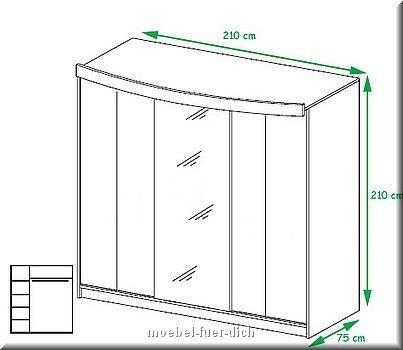 komplettes schlafzimmer dublin hochglanz weiss schwarz ebay. Black Bedroom Furniture Sets. Home Design Ideas