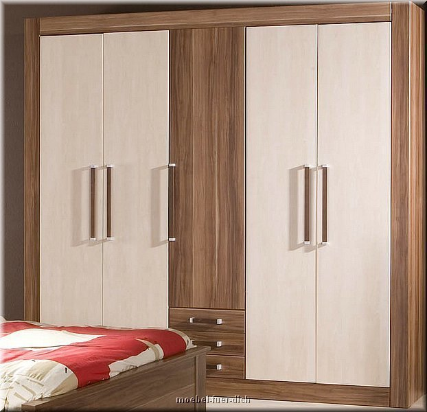 masse kleiderschrank breite 226 cm hoehe 217 cm tiefe 59. Black Bedroom Furniture Sets. Home Design Ideas
