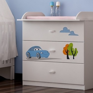 babyzimmer disney cars mit soft close und 3d gravur. Black Bedroom Furniture Sets. Home Design Ideas