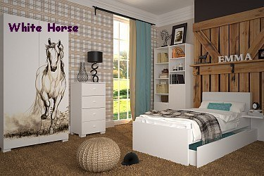 exklusives m dchenzimmer jugendzimmer set fashion mint 7 tlg von meblik ebay. Black Bedroom Furniture Sets. Home Design Ideas