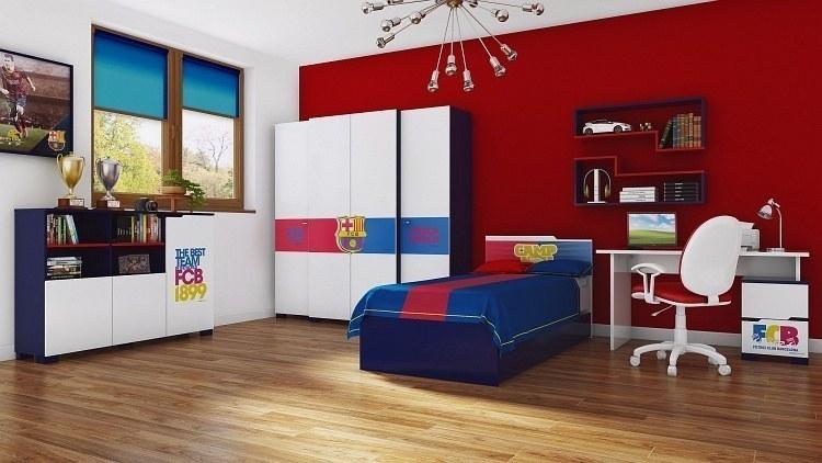 jugendzimmer club auf lizenz des fc barcelona m bel f r dich online shop. Black Bedroom Furniture Sets. Home Design Ideas