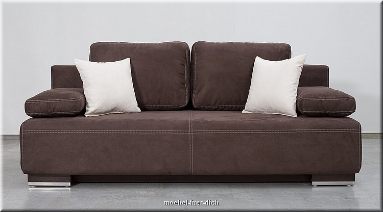 Edles bettsofa schlafsofa hato mit bettkasten federkern for Bettsofa schlafsofa