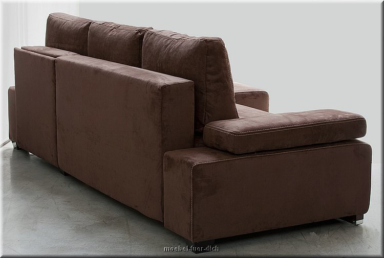 Elegant Corner Sofa Sofabed Hato with Pull Out Bed Sprung  -> Ecksofa Federkern