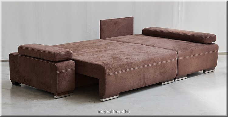 edles ecksofa schlafsofa hato mit bettkasten federkern microfaser oder webstoff ebay. Black Bedroom Furniture Sets. Home Design Ideas