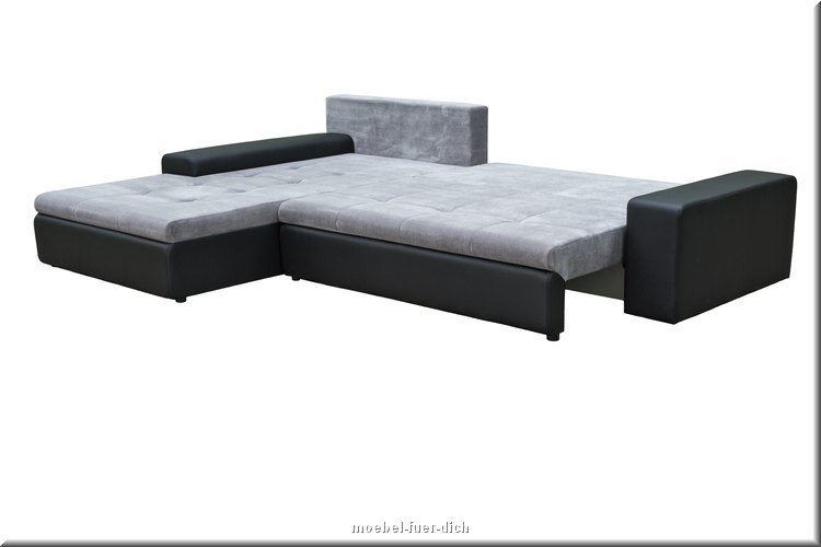 wohnlandschaft eckosofa mit schlaffunktion xxl couchgarnitur porto sofa ebay. Black Bedroom Furniture Sets. Home Design Ideas