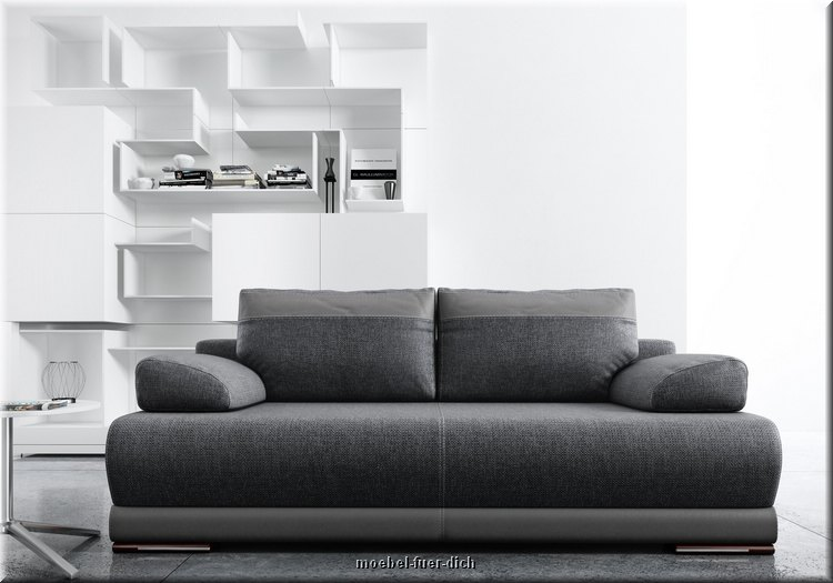 bettsofa schlafcouch ontario mit bettkasten farbauswahl sofa mit bettfunktion ebay. Black Bedroom Furniture Sets. Home Design Ideas