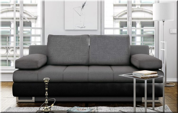 schlafsofa mit bettkasten torens sofa bettcouch mit. Black Bedroom Furniture Sets. Home Design Ideas