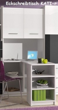 jugendzimmer kinderzimmer mati hochglanz wei schwarz. Black Bedroom Furniture Sets. Home Design Ideas