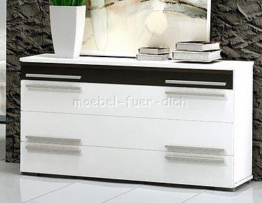 hochglanz schlafzimmer mit designerbett m bel f r dich online shop. Black Bedroom Furniture Sets. Home Design Ideas