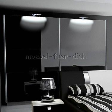 hochglanz schlafzimmer mit boxspringbett m bel f r dich. Black Bedroom Furniture Sets. Home Design Ideas