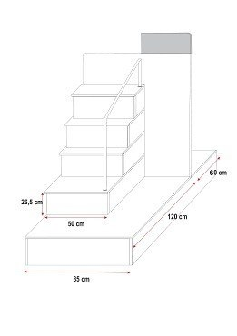 abmessungen treppe gel nder f r au en. Black Bedroom Furniture Sets. Home Design Ideas