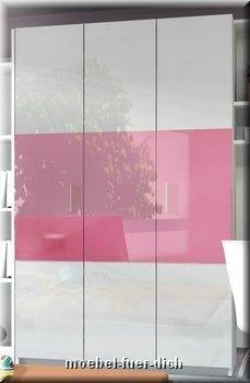 jugendzimmer kinderzimmer komplett lisa hochglanz 6 teilig farbe w hlbar ebay. Black Bedroom Furniture Sets. Home Design Ideas