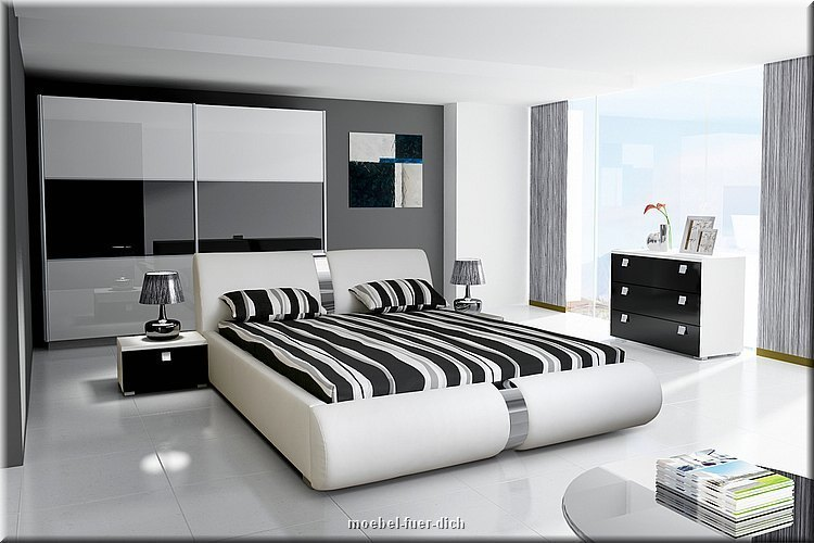 novalis hochglanz wei schlafzimmer komplett ebay. Black Bedroom Furniture Sets. Home Design Ideas