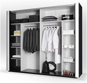 hochglanz schlafzimmer komplett linn bett schrank 250 cm 2 nako cappuccino ebay. Black Bedroom Furniture Sets. Home Design Ideas