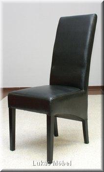essgruppe tisch 180 cm sonoma eiche 4 kunstleder st hle weiss oder schwarz neu ebay. Black Bedroom Furniture Sets. Home Design Ideas