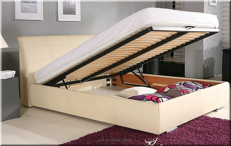 doppelbett garda mit bettkasten lattenrost. Black Bedroom Furniture Sets. Home Design Ideas