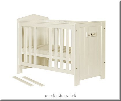 babyzimmer marseille kiefer massiv bett kommode wickelaufsatz schrank ebay. Black Bedroom Furniture Sets. Home Design Ideas