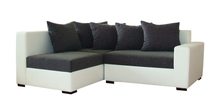 modernes ecksofa city mit gro em hocker m bel f r dich online shop. Black Bedroom Furniture Sets. Home Design Ideas