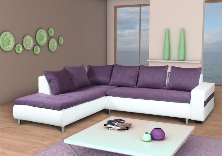 exklusives ecksofa polsterecke morgan mit gro er stoff und farbauswahl neu. Black Bedroom Furniture Sets. Home Design Ideas