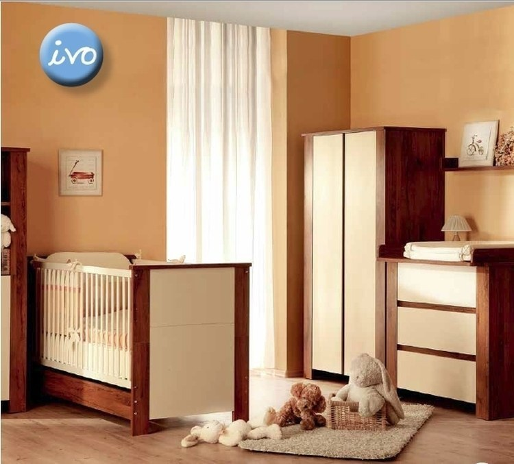 Babyzimmer komplett kinderzimmer ivo 5 tlg babybett for Babyzimmer komplett angebot