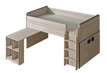 max Hochbett mit Schreibtisch