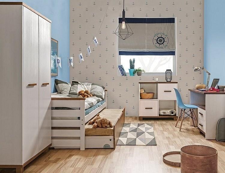 Jugendzimmer set mit Doppelbett