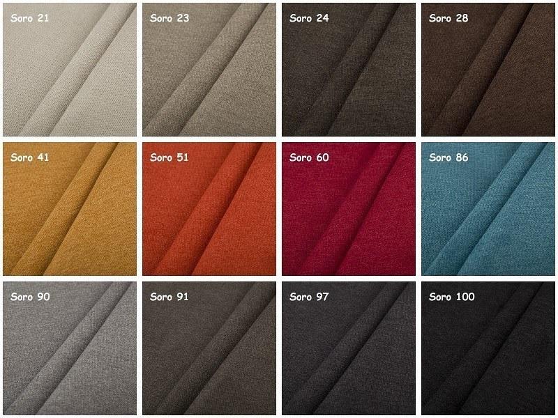 Farbpalette Möbelstoff SORO