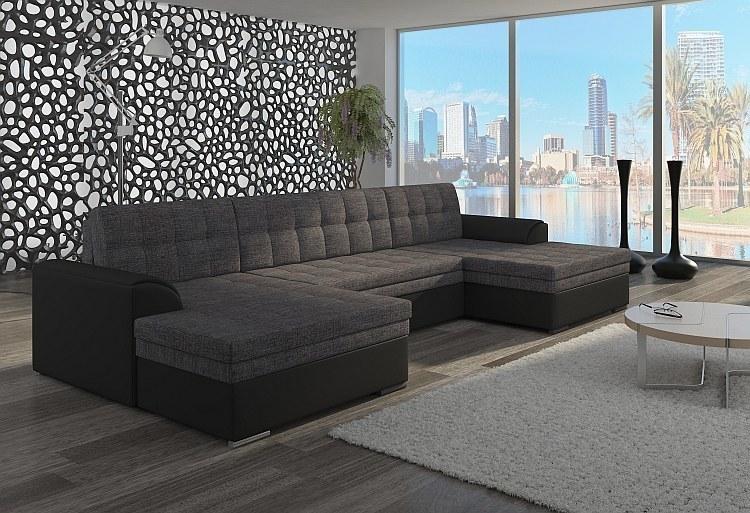 wohnlandschaft u form vera. Black Bedroom Furniture Sets. Home Design Ideas
