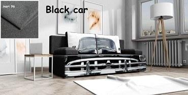 schlafsofa Carlo 3 balck car