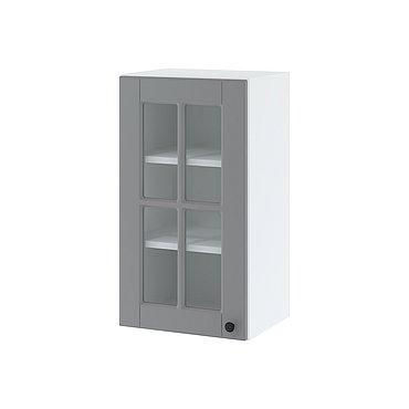 Vitrine mit einer Tür 40 cm