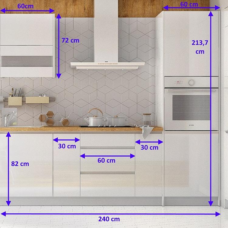 Einbauküche Campari 360 cm