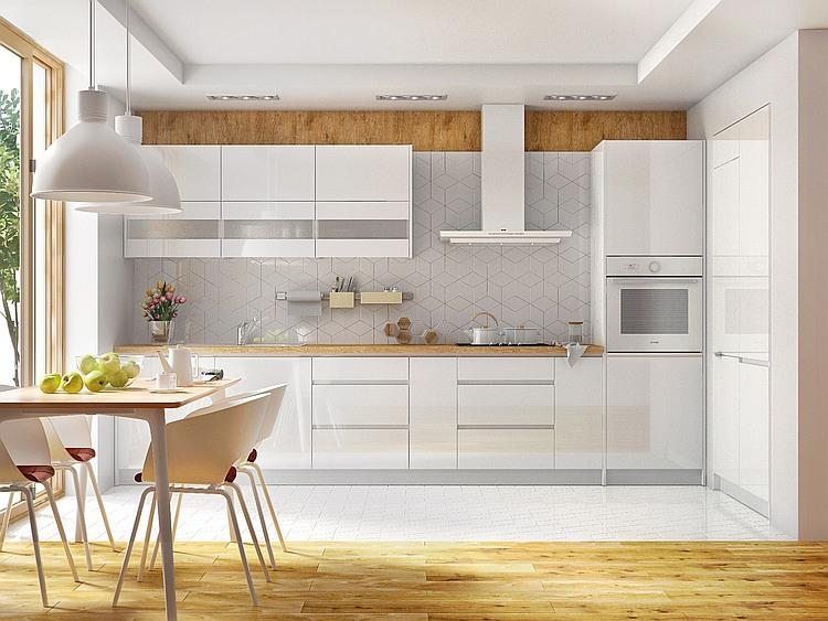 Küche Campari weiß