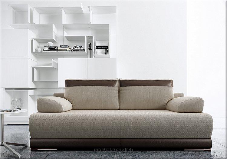 neu ontario bettsofa schlafcouch mit bettkasten und federung ebay. Black Bedroom Furniture Sets. Home Design Ideas