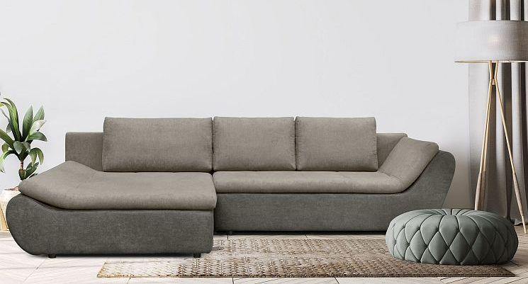 ecksofa ariva modern mit schlaffunktion bettkasten stoff und farbauswahl ebay. Black Bedroom Furniture Sets. Home Design Ideas