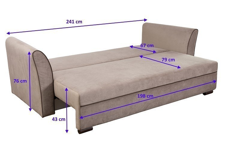 Bettsofa Sanremo Schlaffunktion