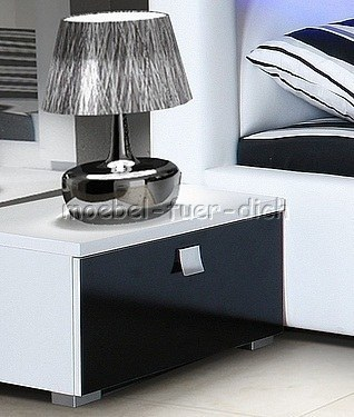 nachttisch 60 cm hoch der sideboards regale online shop. Black Bedroom Furniture Sets. Home Design Ideas