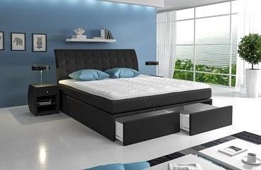 boxspringbett roxybox mit zwei bettk sten m bel f r dich online shop. Black Bedroom Furniture Sets. Home Design Ideas