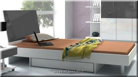 jugendzimmer set lisa hohglanz m bel f r dich online shop. Black Bedroom Furniture Sets. Home Design Ideas