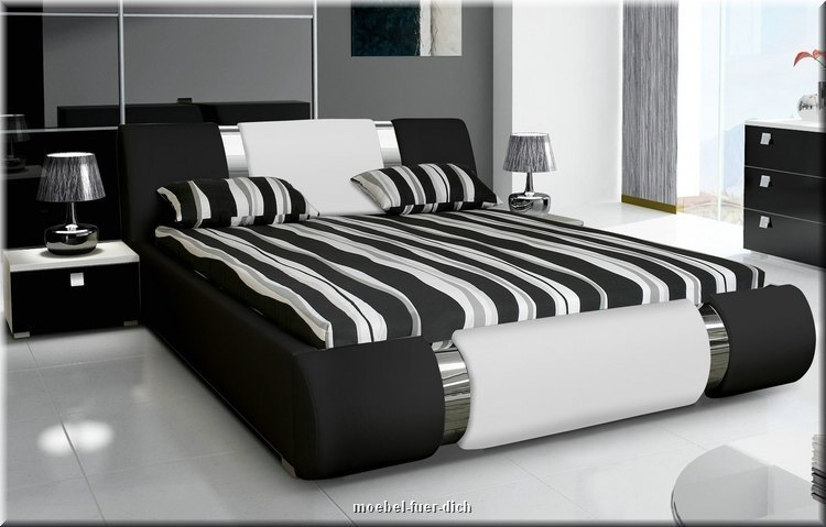 nova ii exklusives polsterbett aus kunstleder m bel f r dich online shop. Black Bedroom Furniture Sets. Home Design Ideas