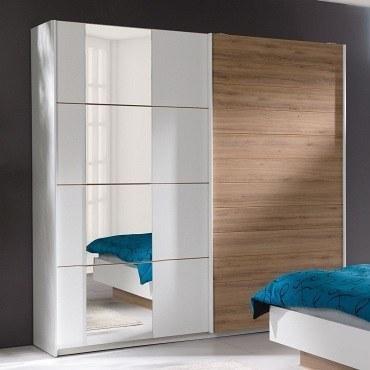 komplett schlafzimmer arturo wei wildeiche m bel f r dich online shop. Black Bedroom Furniture Sets. Home Design Ideas
