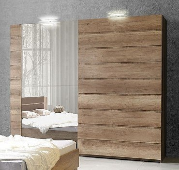 schlafzimmer miro farbe eiche canyon bett. Black Bedroom Furniture Sets. Home Design Ideas