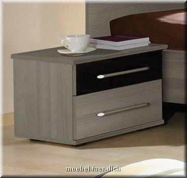 nachttisch hochglanz grau gallery of bild design. Black Bedroom Furniture Sets. Home Design Ideas