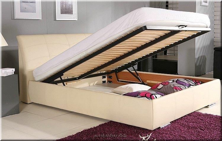 doppelbett polsterbett garda mit bettkasten lattenrost. Black Bedroom Furniture Sets. Home Design Ideas