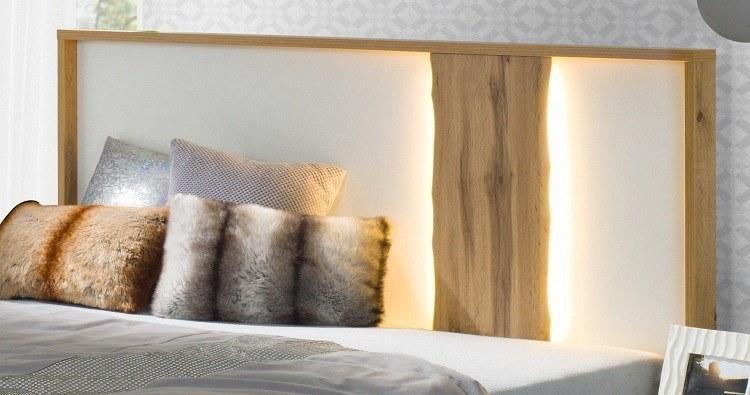 Arturo - Doppelbett mit LED
