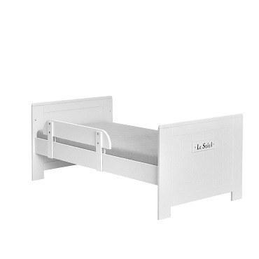 marseille mdf 5 tlg babyzimmer mit kombibett und dreit rigem schrank von pinio ebay. Black Bedroom Furniture Sets. Home Design Ideas