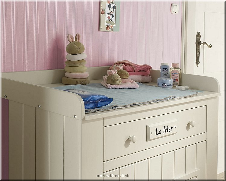 babyzimmer kiefer massiv marseille bett kommode mit. Black Bedroom Furniture Sets. Home Design Ideas